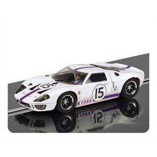 Scalextric 1966 Ford GT40 #15 Le Mans Ligier-Grossman Scalextric 1:32 Slot Car