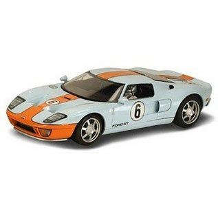 Scalextric Ford GT Heritage Livery #6 Scalextric 1:32 Slot Car