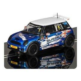 Scalextric BMW Mini Cooper S 2012 JCW Champion Scalextric 1:32