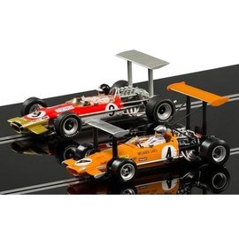 Scalextric Team Lotus 49 Vs McLaren M7c Legends Limited Edition Set 1:32 Slot