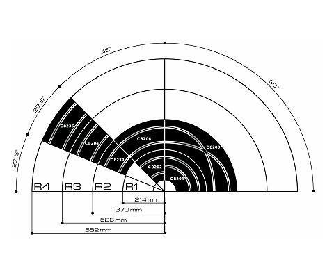 Honda Garnish Assembly L Center Pillar Upper Nh882l Platinum Gray 84161t5ra01za besides 413 Black Bandit Series 15 Set additionally Scalextric Scalextric Track R1 Inner Curve 45 Deg moreover Volvo Xc90 Ke Diagram also  on 1 32 model car kits