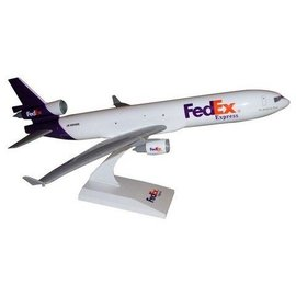 Skymarks Fedex MD-11 - Skymarks - 1:200 Scale Plastic Model Airplane