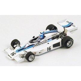 Spark Models Shadow DN8 #16 Long Beach GP 1977 Renzo Zorzi Spark 1:43