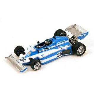 Spark Models Ligier JS7 #26 Winner Sweden GP 1977 Laffite Spark 1:43