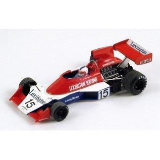 Spark Models Tyrrell 007 #15 South African GP 1976 Ian Scheckter Spark 1:43