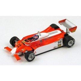 Spark Models Alfa Romeo 179 #22 Monaco GP 1980 Depailler Spark 1:43