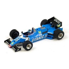 Spark Models Ligier JS21 #25 Long Beach GP 1983 Jean Pierre Jarier Spark 1:43