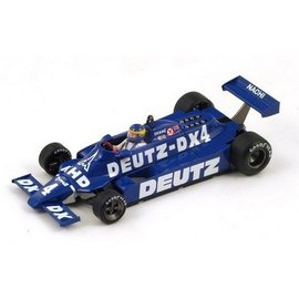 Spark Models Tyrell 010 #4 South African GP 1981 Desire Wilson Spark 1:43