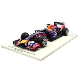 Spark Models 2014 Red Bull RB10 Sebastian Vettel F1 Spark 1:18 Resin Model