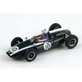 Spark Models Cooper T53 #10 2nd Monaco GP 1960 B McLaren Spark 1:43 Diecast