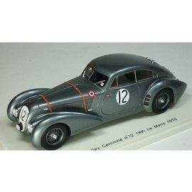 Spark Models 1950 Bentley Corniche #12 14th Le Mans Spark 1:43 Diecast