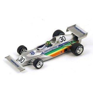 Spark Models Copersucar FD01 #30 Argentina GP 1975 Wilson Fittipaldi Spark 1:43