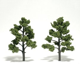 Woodland Scenics Ready Made Trees - Light Green