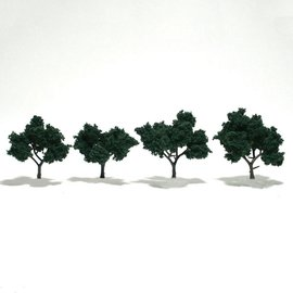 Woodland Scenics Ready Made Trees - Dark Green