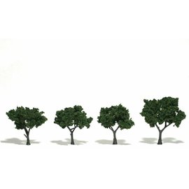 Woodland Scenics Ready Made Trees - Medium Green