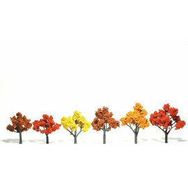 Woodland Scenics Ready Made Trees - Fall Mix