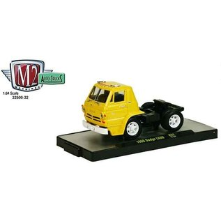 M2 Machines 1966 Dodge L600 Yellow M2 1:64 Diecast Truck