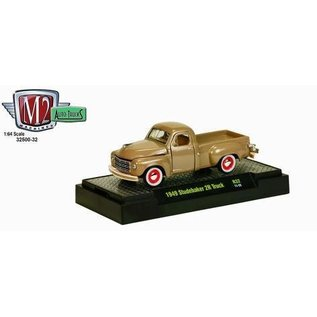 M2 Machines 1949 Studebaker 2R Truck In Tan By M2 Machines 1:64 Diecast