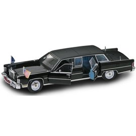 Road Legends 1972 Lincoln Continental Reagan Car Presidential Series Yat Ming 1:24