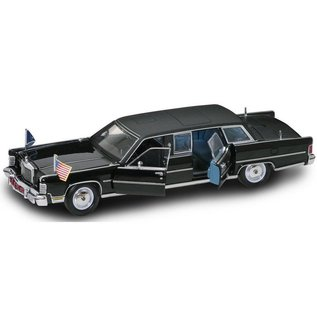Road Legends 1972 Lincoln Continental Reagan Car Presidential Series Yat Ming 1:24