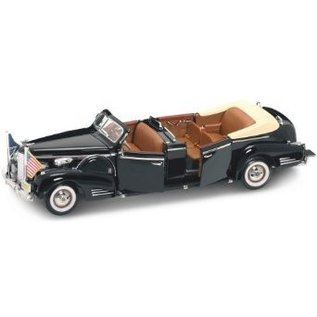 Road Legends 1938 Cadillac V-16 President Limo Presidential Series Yat Ming 1:24 Diecast