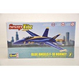 Revell-Monogram RMX Blue Angels F-18 Hornet - RMX - 1:72 Scale Snap-Tite Airplane Kit