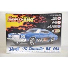 Revell-Monogram RMX 1970 Chevelle SS 454 - RMX - 1:25 Scale Snap-Tite Plastic Car Kit
