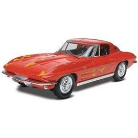 Revell-Monogram RMX 1963 Corvette Stingray Coupe Snap Revell 1:25 Plastic Kit