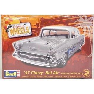 Revell-Monogram RMX 1957 Chevy Bel Air - RMX - 1:25 Scale Plastic Model Car Kit