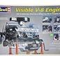 Revell-Monogram RMX Visible V-8 Engine - RMX - 1:4 Scale Plastic Model Kit