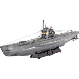 Revell German Submarine Type VII C41 Atlantic Version Revell 1:144 Plastic Model Kit