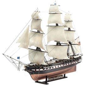 Revell U.S.S. Constitution Revell Of Germany 1:146 Scale Plastic Model Kit