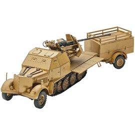Revell Sd Kfz 7-2 Military Vehicle Revell 1:72 Plastic Model Kit