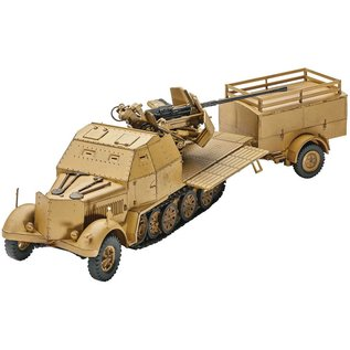 Revell Sd Kfz 7-2 Military Vehicle Revell 1:72 Plastic Model Kit