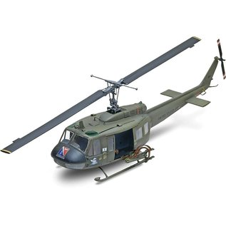 Revell-Monogram RMX UH-1D Huey Gunship Helicopter by Revell 1:32 Plastic Model Kit