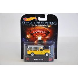 Hot Wheels Hot Wheels Ford F250 Close Encounters Retro Entertainment Mattel 1:64 Diecast