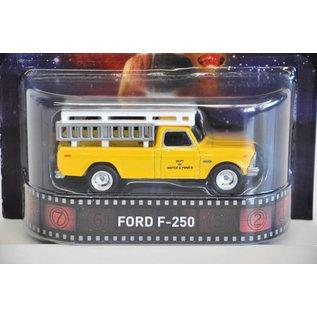 Hot Wheels Hot Wheels Ford F250 Close Encounters Retro Entertainment Mattel 1:64 Diecast