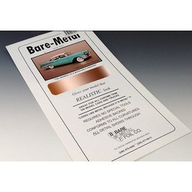 Bare Metal Foil Bare Metal Foil Real Copper For Model Kits