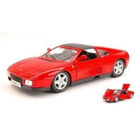 Bburago Ferrari 348TS In Red Bburago 1:18 Diecast Model Car