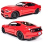 Auto World 2015 Ford Mustang GT Red Auto World 1:18 Diecast Model Car