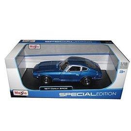 Maisto 1971 Datsun 240Z Blue Maisto 1:18 Diecast Model Car