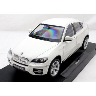 Welly Die Casting BMW X6 White Welly 1:18 Scale Diecast Model Car