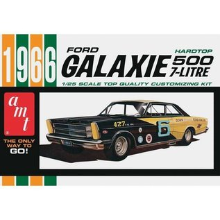 AMT 1966 Ford Galaxie 500 Hardtop AMT 1:25 Scale Plastic Model Kit