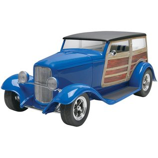 Revell-Monogram RMX Dan Fink Metalworks Speedwagon Revell 1:25 Scale Plastic Model Kit