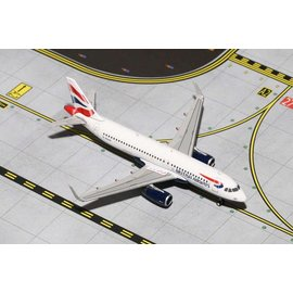 Gemini Jets British Airways Airbus A320 Gemini Jets 1:400 Scale Diecast Model Aircraft