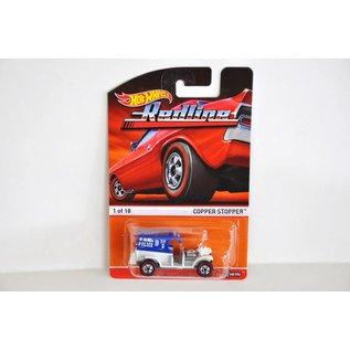 Hot Wheels Hot Wheels Copper Stopper in White Heritage Redline Mattel 1:64 Scale Diecast Model Car