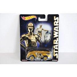 Hot Wheels Hot Wheels Haulin Gas C-3PO Star Wars Pop Culture Mattel 1:64 Scale Diecast Model Car