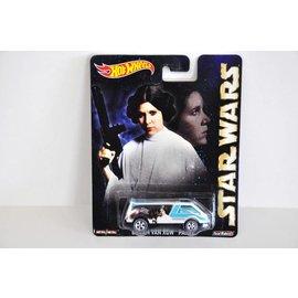 Hot Wheels Hot Wheels Dream Van XGW Panel Princess Leia Star Wars Pop Culture Mattel 1:64 Scale Diecast Model Car