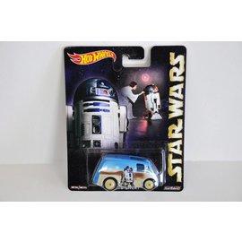 Hot Wheels Hot Wheels Quick D-Livery R2-D2 Star Wars Pop Culture Mattel 1:64 Scale Diecast Model Car
