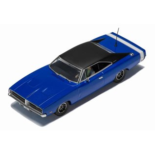 Scalextric 1969 Dodge Charger in Metallic Blue Scalextric 1:32 Scale Slot Car